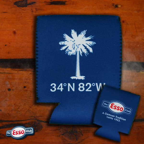 The Esso Club Palmetto Tree Koozie