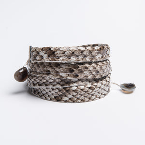 """Twisted"" Wrap Bracelet"