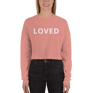 LOVED cropped sweatshirt