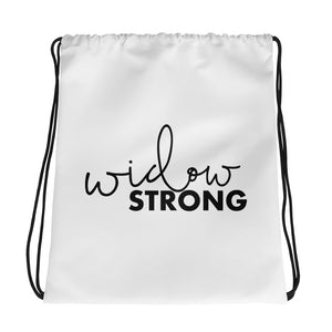 Widow Strong drawstring bag