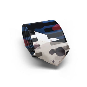 Red, White and Blues Necktie