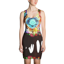 Burning Brightly - All Over Printed Dress