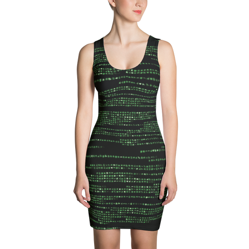 Into the M8trix - All Over Printed Dress