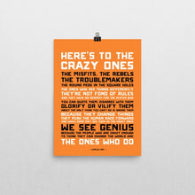Here's to the Crazy Ones - Poster