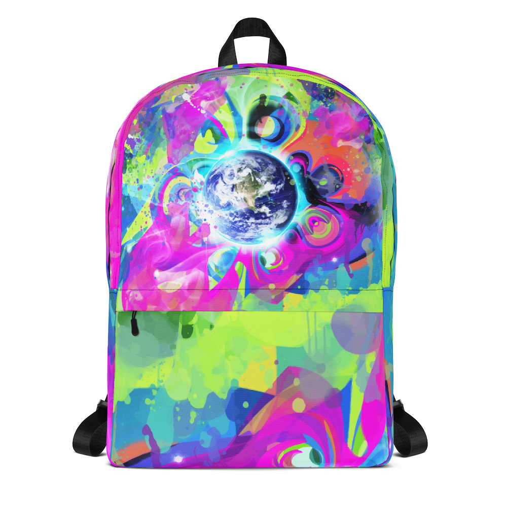 Bright Mornings - Trippy Art Backpack