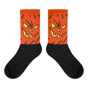 Jack O' Lantern - Socks by Brent Metcalf