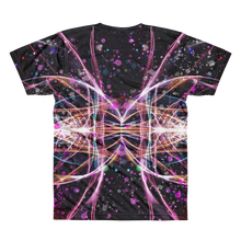 Refracted Light and Paint Spatters - All-Over Printed T-Shirt