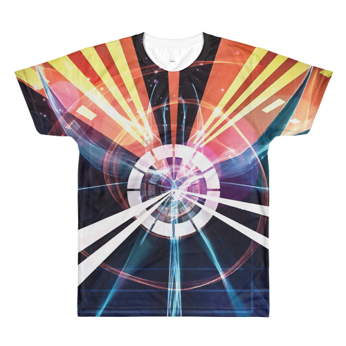 Into the Vortex - All-Over Printed T-Shirt