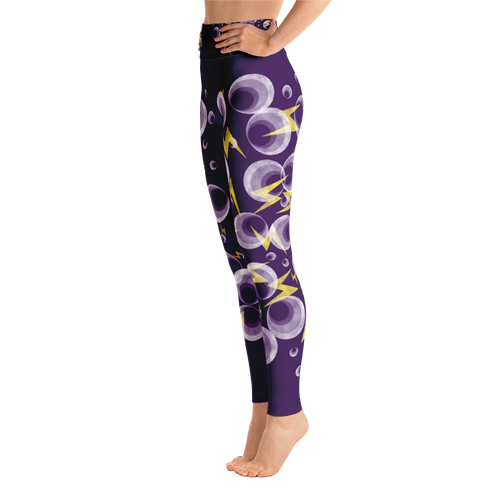 Shockingly Purple - Yoga Pants