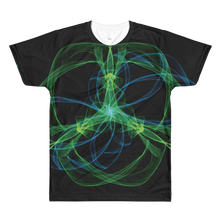 Abstract Swirls - All-Over Printed T-Shirt