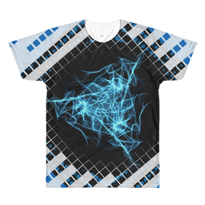Bits, Blues, and Bytes - All-Over Printed T-Shirt