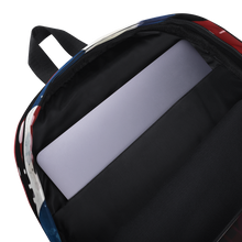Red White and Blues - Abstract Art Backpack