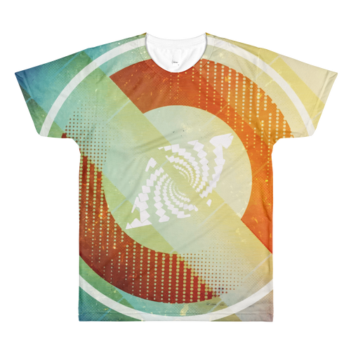 Vortex - All-Over Printed T-Shirt