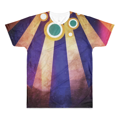 Descending Fire - All-Over Printed T-Shirt