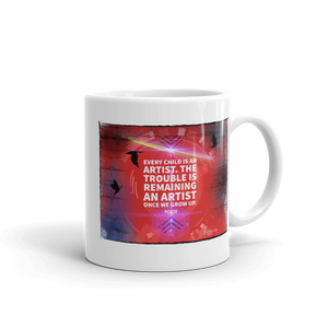 Every Child is an Artist - Picasso Mug