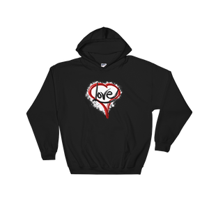 Heart of Love - Hooded Sweatshirt