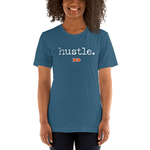 Hustle - Unisex Short Sleeve Jersey T-Shirt