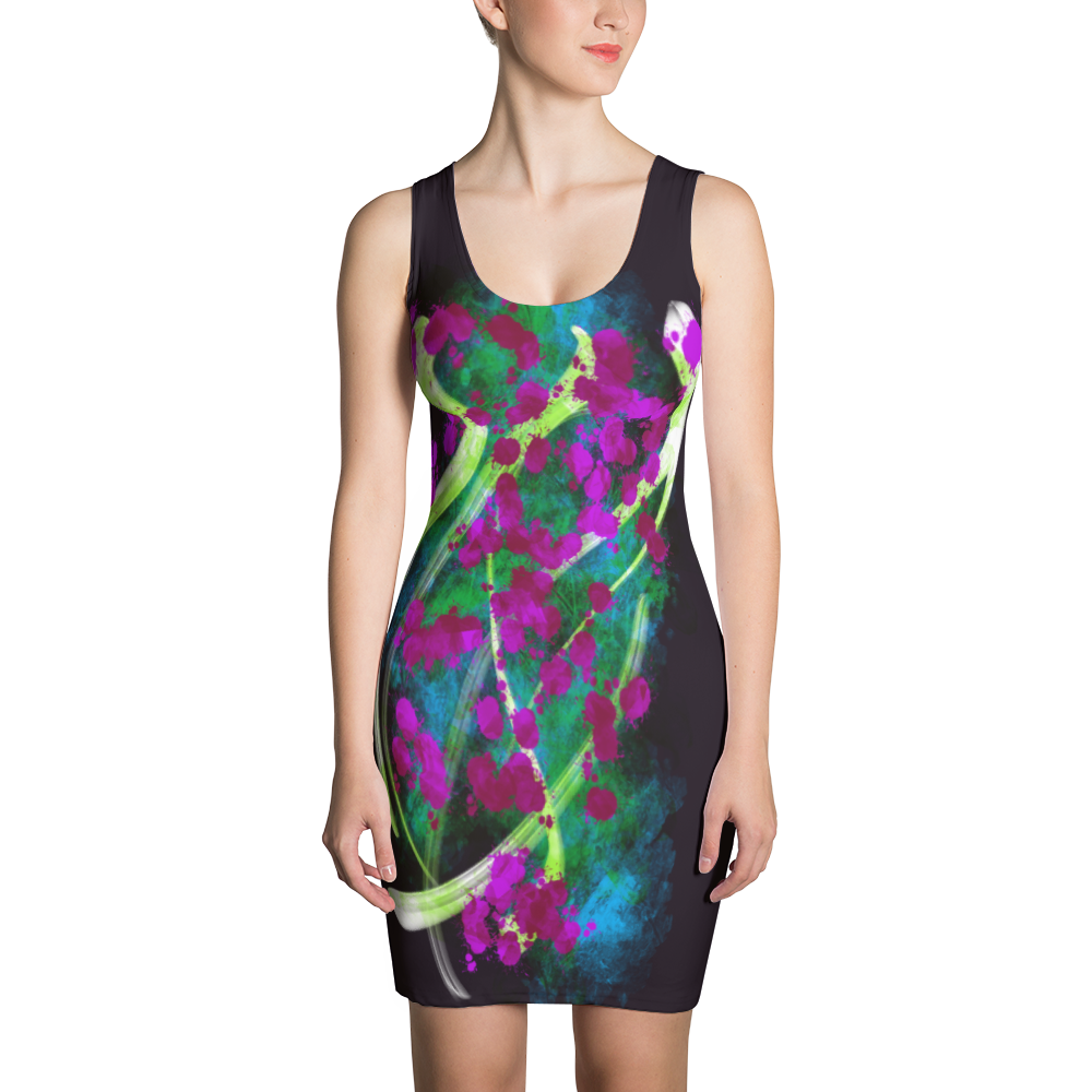 Charismatic Essence - All Over Printed Dress