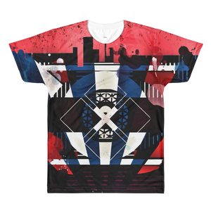 Red, White, and Blues - All-Over Printed T-Shirt