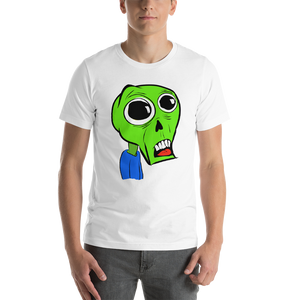 Big Eyed Zombie - Short-Sleeve Unisex T-Shirt