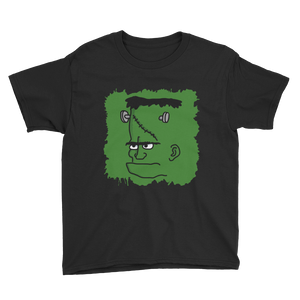 Green Frank Splatter - Youth T-shirt