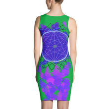 Splattered Geometry - All Over Printed Dress