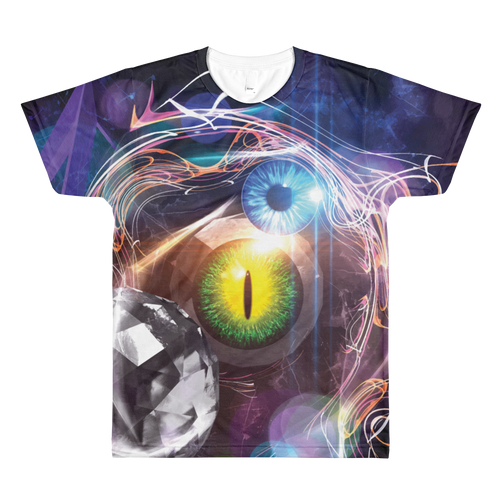 Eyes of Infinity - All-Over Printed T-Shirt