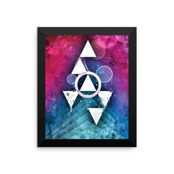 Scaling Summits - Framed Abstract Wall Art by Reformation Designs