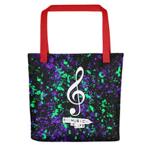 Music is Life - Tote bag by Reformation Designs