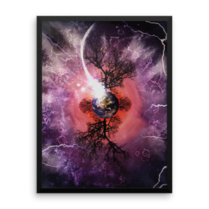 Equinox - Framed Abstract Wall Art by Reformation Designs