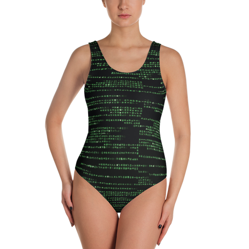 Into the M8trix - One-Piece Swimsuit