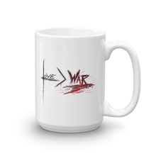 Love is Greater Than War - Mug
