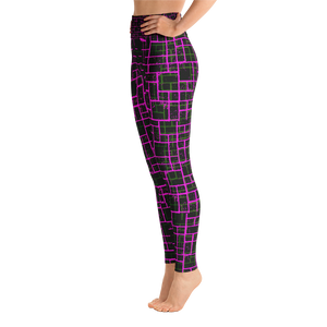 Gridlocked - Premium Yoga Pants