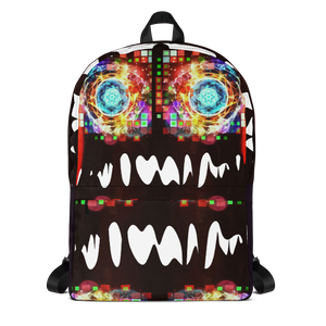 Burning Brightly - Abstract Art Backpack