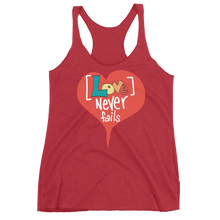 Love Never Fails - Women's Racerback Tank