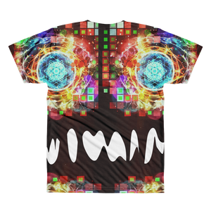 Burning Brightly - All-Over Printed T-Shirt