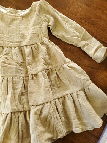 Abilene Dress in Cream Size 2T & 3T