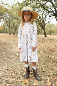 Garden Harvest Dress Size 2T
