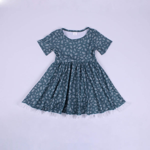 Alice Dress in Winter Green