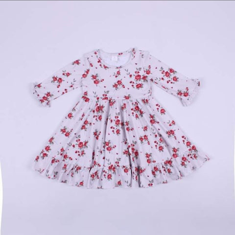 Sweet Valentine Floral Dress