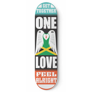 One Love - Skateboard Deck