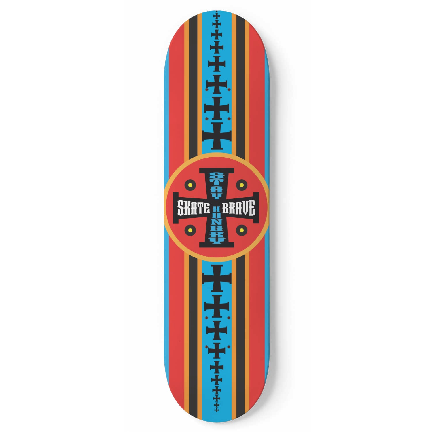 Stay Hungry - Skateboard Deck