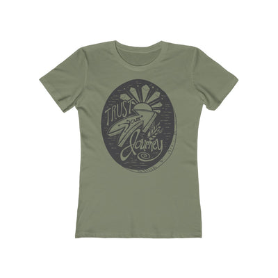 Trust Your Journey, Tree - Women's T-Shirt