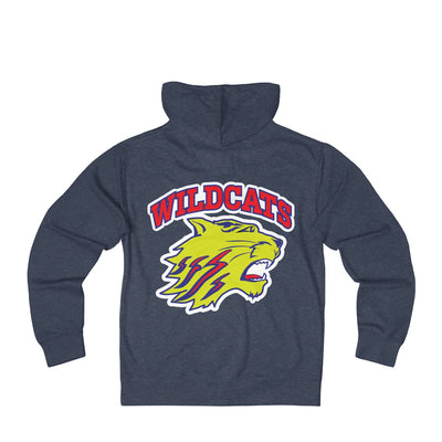 Dunwoody Wildcats, Bold Cat - French Terry Zip Hoodie
