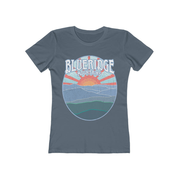 Blueridge Mountains - Women's Premium T-Shirt / Appalachian Trail Hike