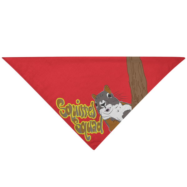 Squirrel Squad - Pet Bandana / Cool Dog Gift, Pet Fashion