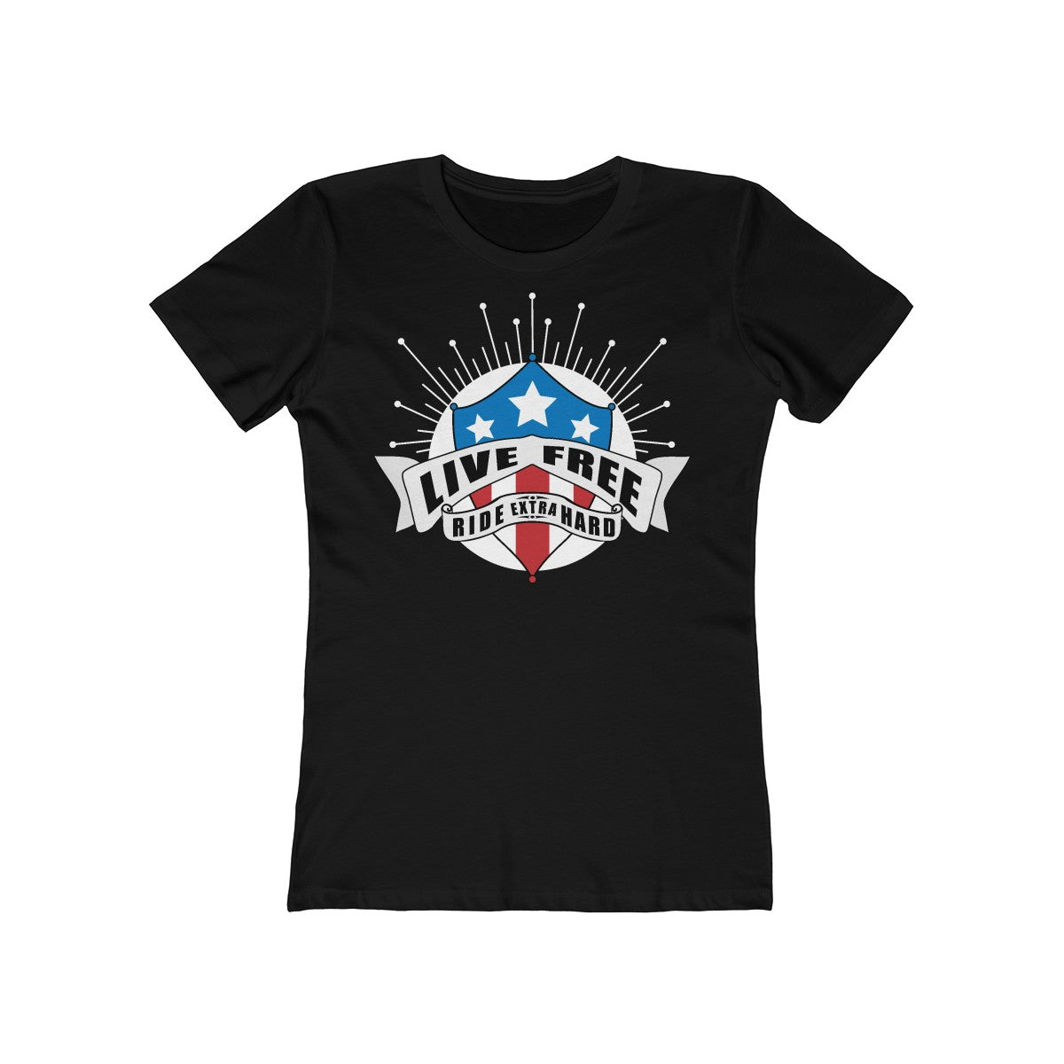Live Free & Ride - Women's T-Shirt