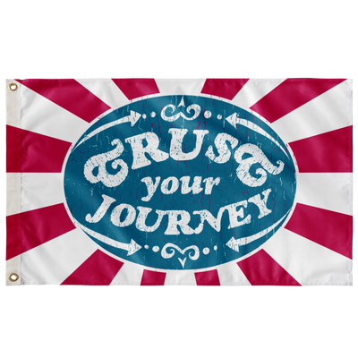 Trust Your Journey, Points - Flag