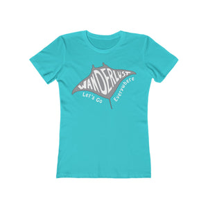 Manta Ray Wanderlust - Women's T-Shirt