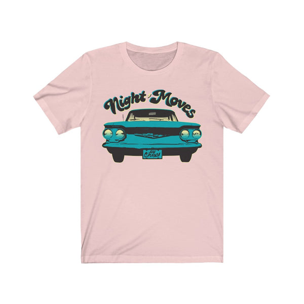 Night Moves - Premium T-Shirt / 60's Chevy, Classic Car, Teen Summer